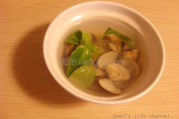 九层蒜头蚵蛎汤的做法