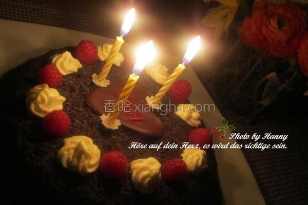 罂粟籽蛋糕的做法