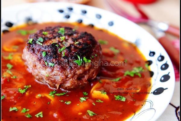 蘑菇汉堡肉的做法