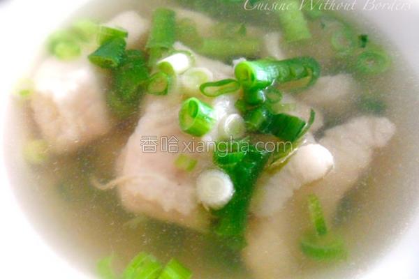 鲜鱼汤的做法