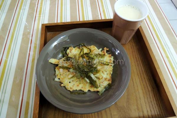 豆渣蔬菜煎饼的做法
