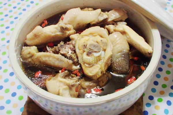 四物鸡汤的做法