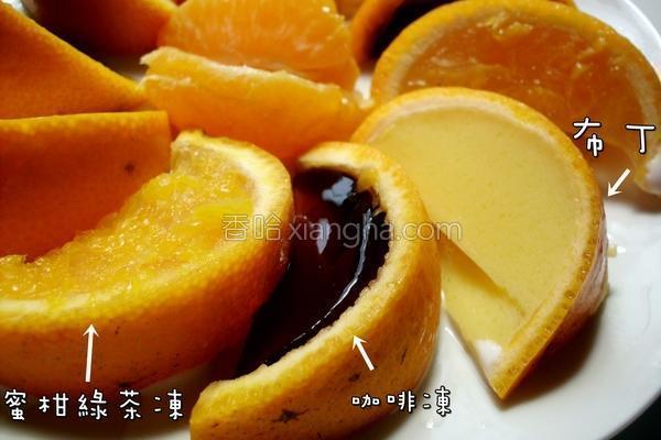 蜜柑果冻的做法