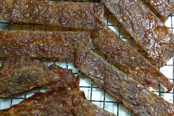 健康猪肉干的做法