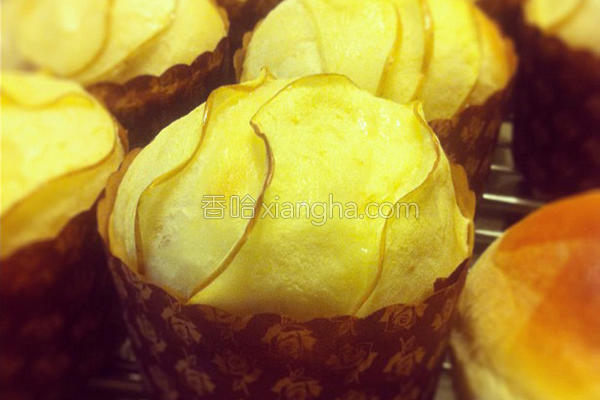 苹果面包的做法