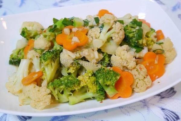 豆腐乳烧花菜的做法