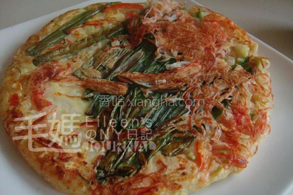 韩式瓢瓜煎饼的做法