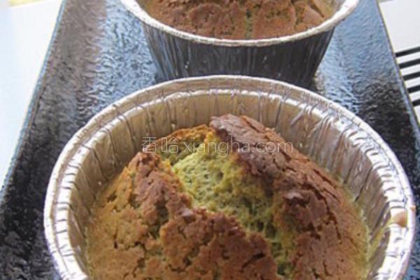绿茶松饼的做法