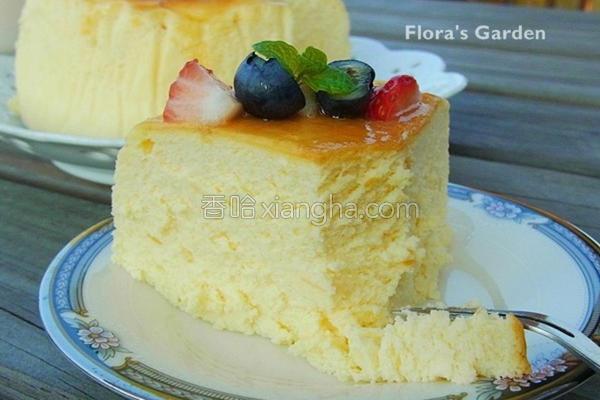 舒芙蕾起司蛋糕的做法
