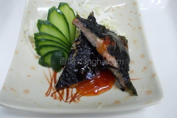 海苔月亮虾饼的做法