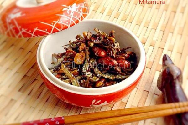 日式蜜汁鱼干的做法