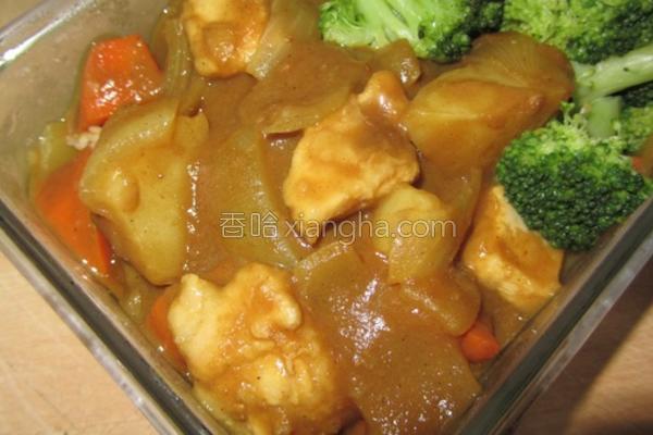 日式咖哩鸡的做法