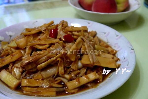 酱烧桂竹笋的做法