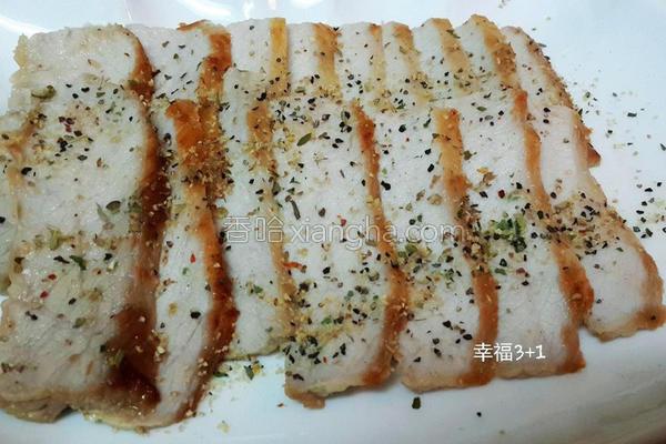 椒盐松坂猪的做法
