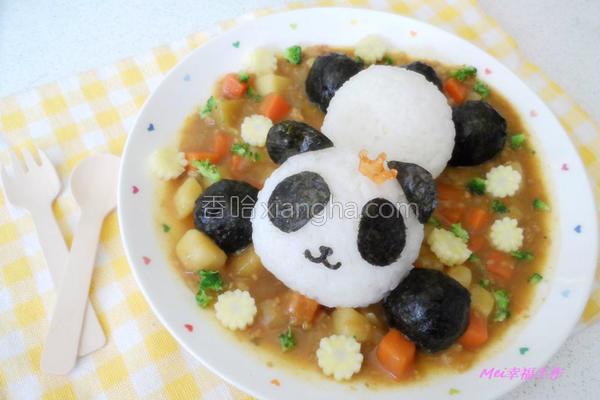 宝宝咖哩饭饭的做法