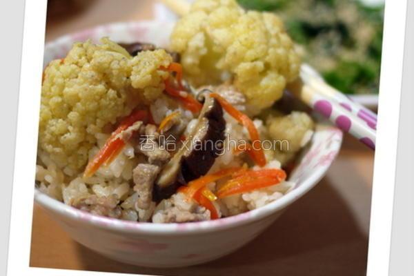 花椰菜炊饭的做法