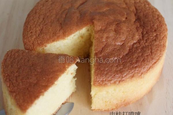 基本海绵蛋糕的做法