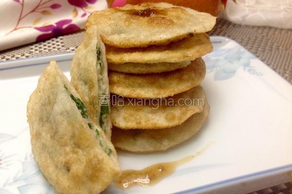 韮菜海鲜煎饼的做法