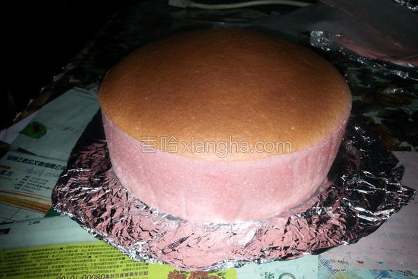 草莓轻乳酪蛋糕的做法
