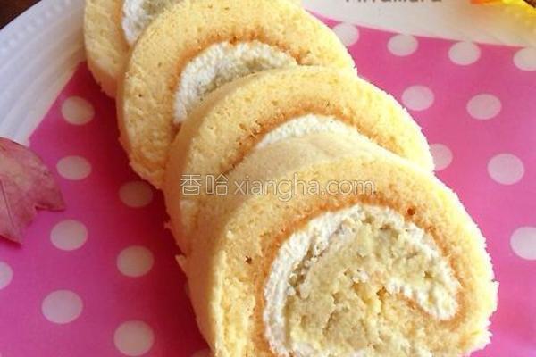 地瓜绿豆沙蛋糕卷的做法