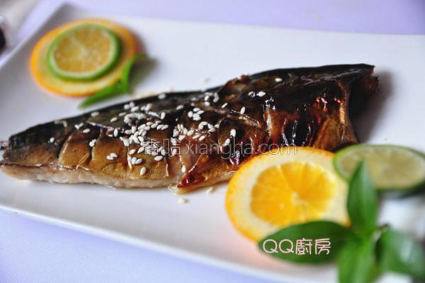蜜梅酱烤鲭鱼的做法