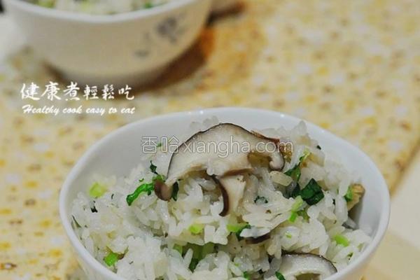 统一肉燥香菇炊饭的做法