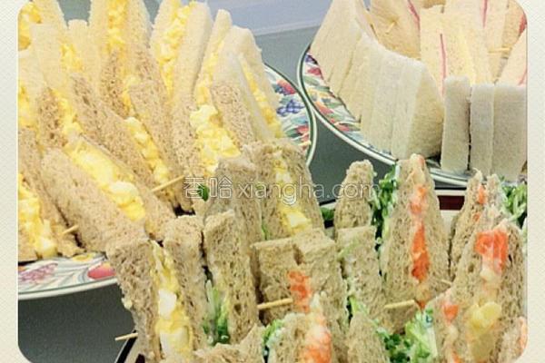 蛋沙拉三明治的做法