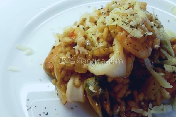 杂烩意大利饭的做法