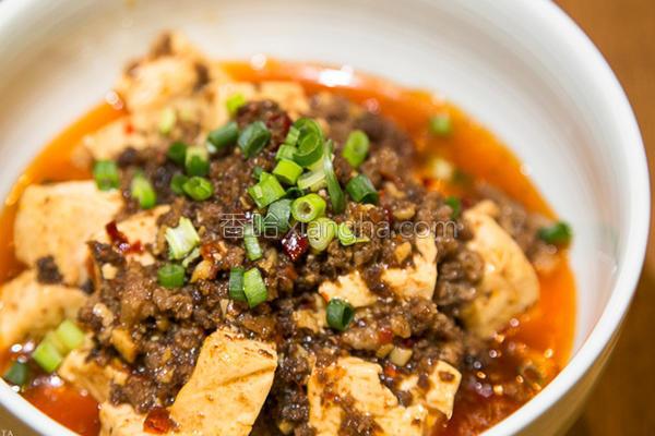 下饭麻婆豆腐秘诀的做法