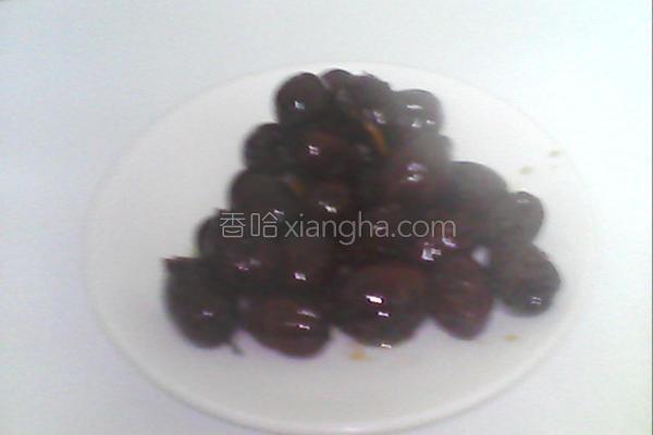 自制黑糖红枣蜜的做法