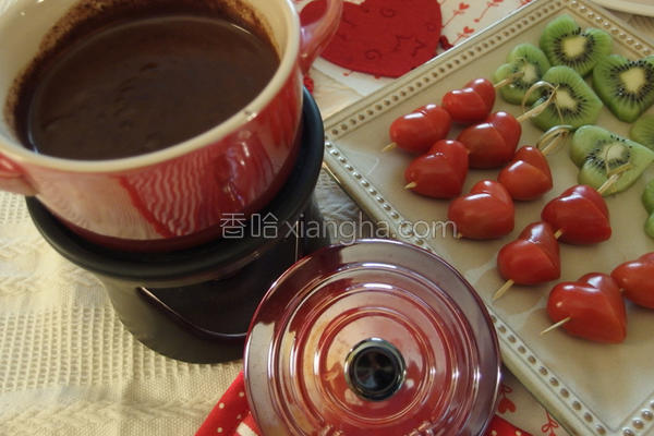 巧克力锅的做法