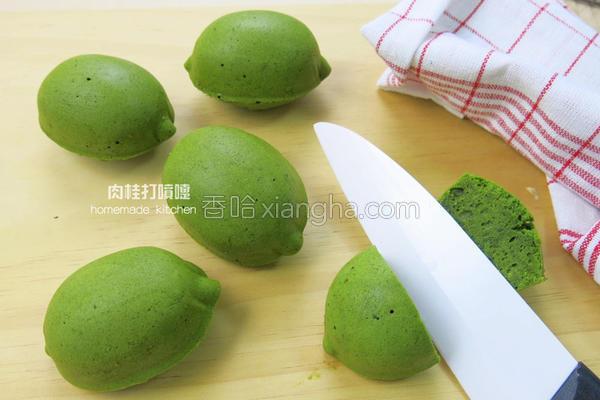 绿柠檬造型蛋糕的做法