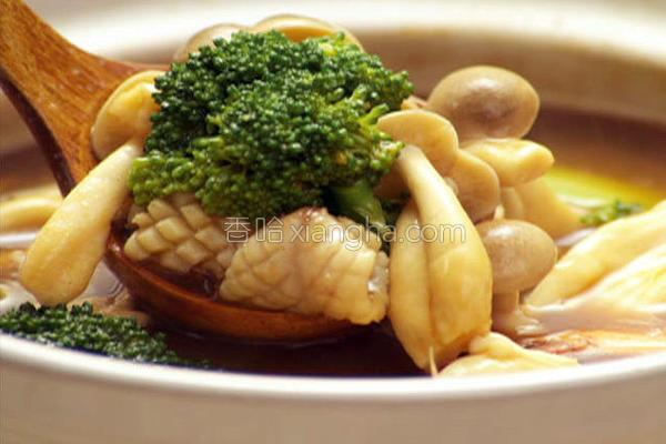 咖哩菇菇锅的做法