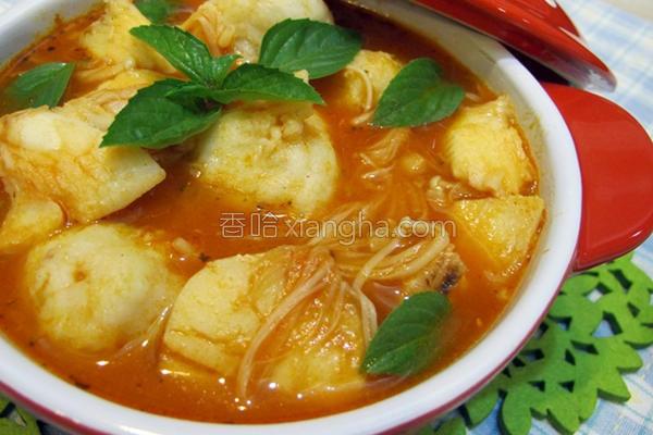 意式番茄海鲜汤的做法