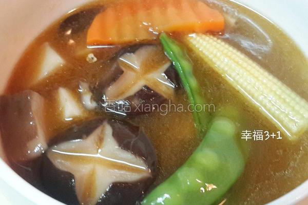 麻油杏鲍菇汤的做法