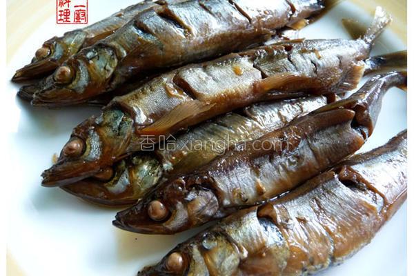 柳叶鱼甘露煮的做法