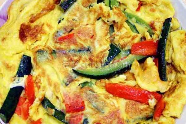 厚生厨房黄瓜煎蛋的做法