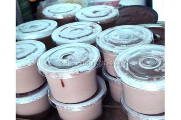 巧克力乳糕冻的做法
