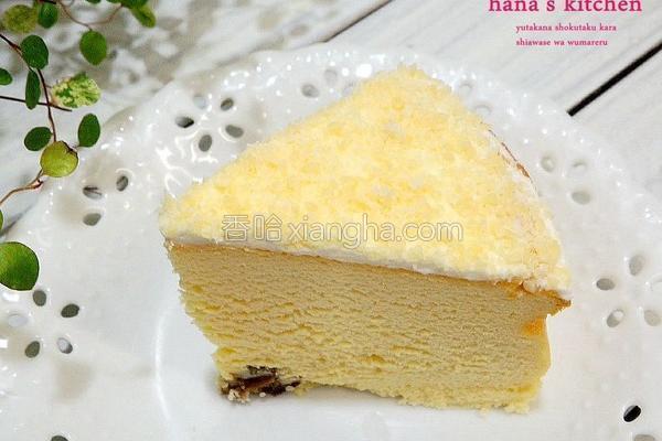 雪花轻乳酪蛋糕的做法