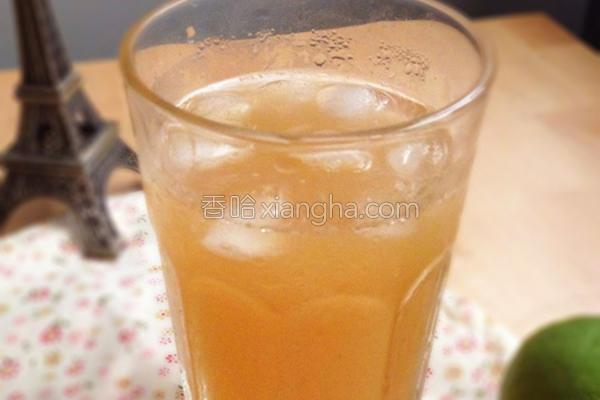 鲜榨翡翠柠檬茶的做法