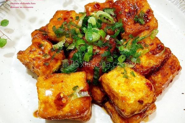 日式酱烧豆腐排的做法