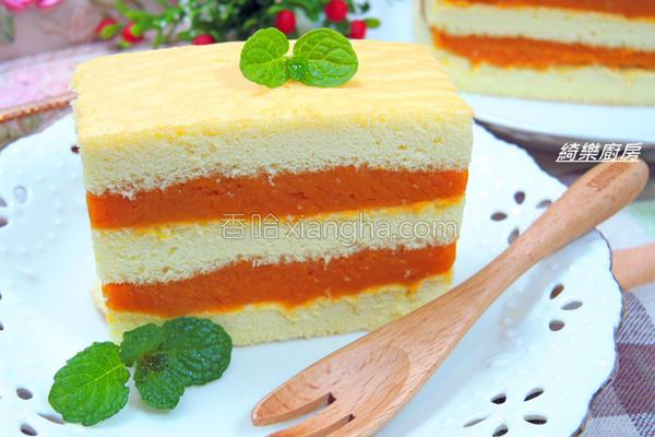 地瓜蛋糕的做法