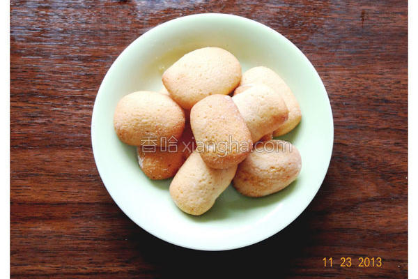 香草小方饼的做法