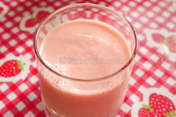 西瓜牛奶的做法