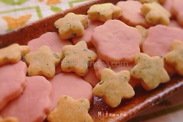樱花满开草莓饼干的做法