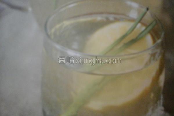 柠檬草特饮的做法