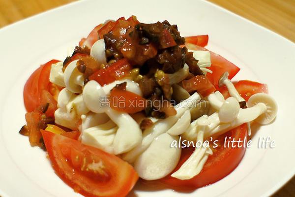 番茄蜜饯菇的做法