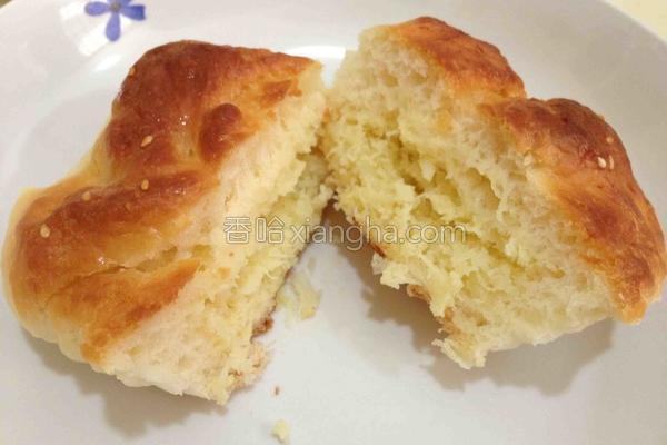 椰容面包的做法