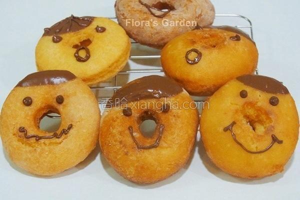 豆渣甜甜圈的做法