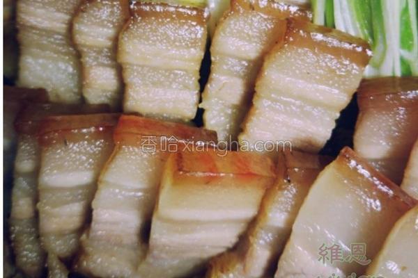 香烤味噌五花肉的做法